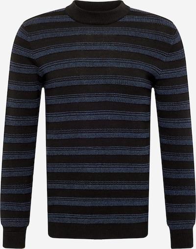 EDC BY ESPRIT Sweater in marine blue / Black, Item view