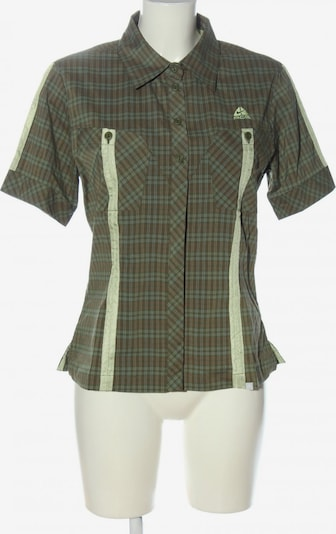 NIKE Kurzarmhemd in L in türkis / khaki / rot, Produktansicht