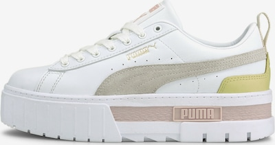 PUMA Sneakers low 'Mayze Lth' in White, Item view