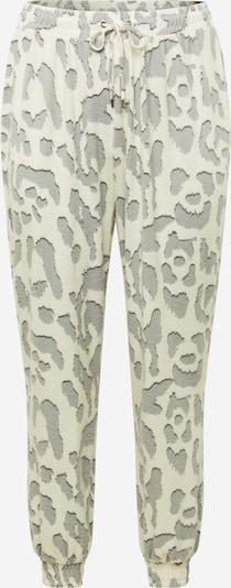 River Island Plus Pantalon 'Hacci' en crème / gris / noir, Vue avec produit