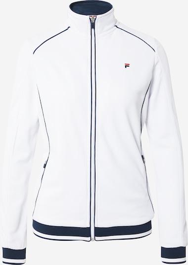FILA Sportief sweatvest 'Sophia' in de kleur Donkerblauw / Vuurrood / Wit, Productweergave