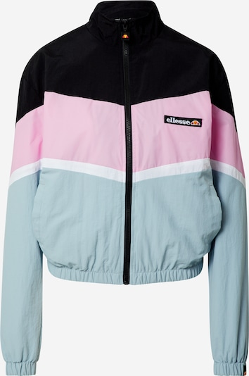 ELLESSE Jacke 'NARINARI' in mint / rosa / schwarz / weiß, Produktansicht