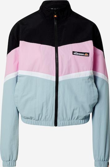 ELLESSE Overgangsjakke 'NARINARI' i mint / lyserød / sort / hvid, Produktvisning