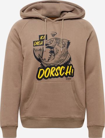 Derbe Dressipluus 'Dorsch', värv pruun