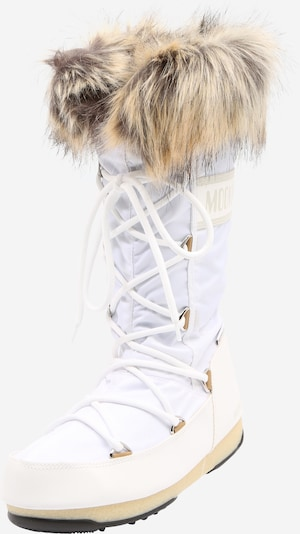 MOON BOOT Snehule 'MONACO' - svetlohnedá / biela, Produkt
