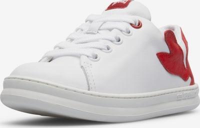 CAMPER Sneakers ' Twins ' in de kleur Rood / Wit, Productweergave