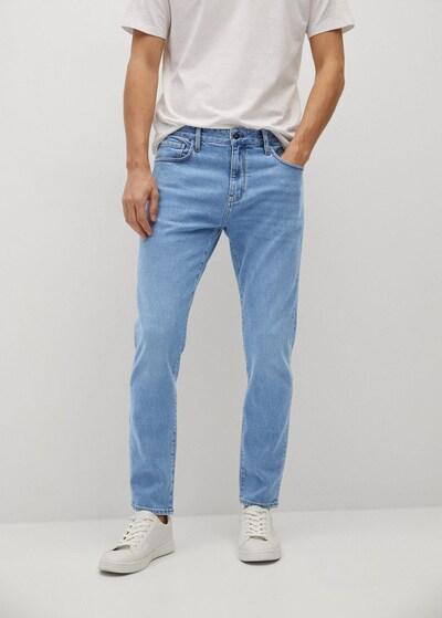 MANGO MAN Jeans 'Tom' in kobaltblau, Modelansicht