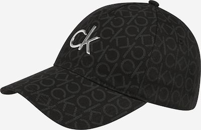 Șapcă Calvin Klein pe gri / negru / argintiu, Vizualizare produs