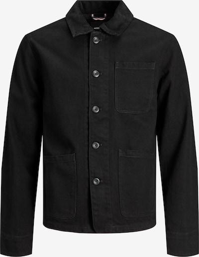 JACK & JONES Jacke 'Lucas' in black denim, Produktansicht
