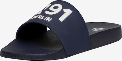 N91 Sandale 'Urban Slide AA' in blau, Produktansicht