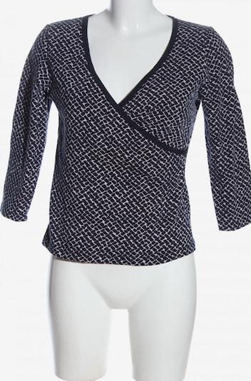 Vanilia V-Ausschnitt-Shirt in M in blau / pink, Produktansicht
