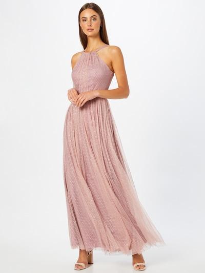 Rochie de seară SWING pe roz / argintiu, Vizualizare model