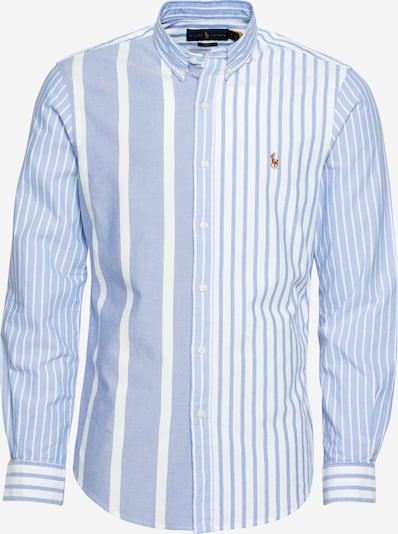 POLO RALPH LAUREN Overhemd in de kleur Lichtblauw / Wit, Productweergave