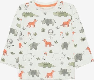 STACCATO Shirt in pastellgrün / orange / weiß, Produktansicht
