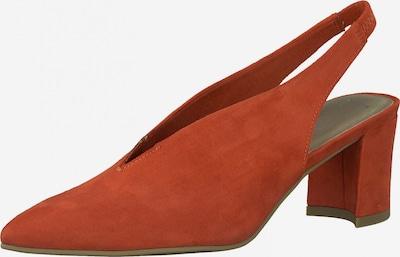 Basutės iš MARCO TOZZI , spalva - oranžinė-raudona, Prekių apžvalga
