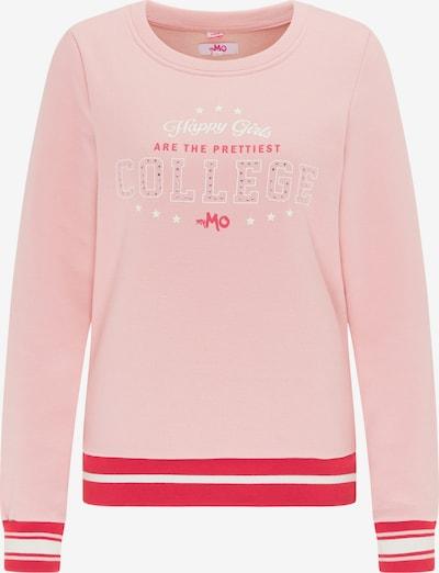 MYMO Sweatshirt in rosa / hellrot / weiß, Produktansicht