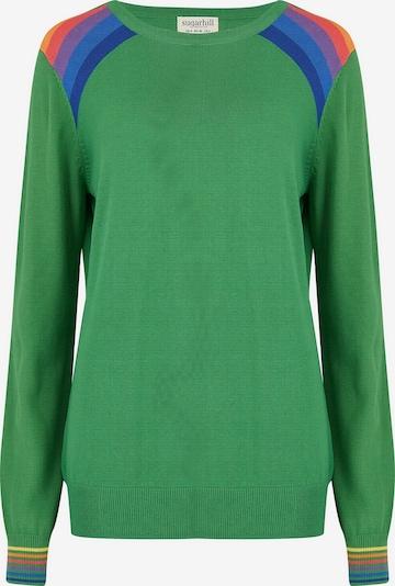 Sugarhill Brighton Sweater 'Rita' in Green / Mixed colours, Item view