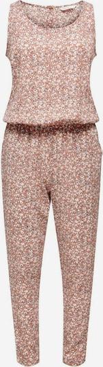 ONLY Jumpsuit in de kleur Bruin / Pink / Wit, Productweergave