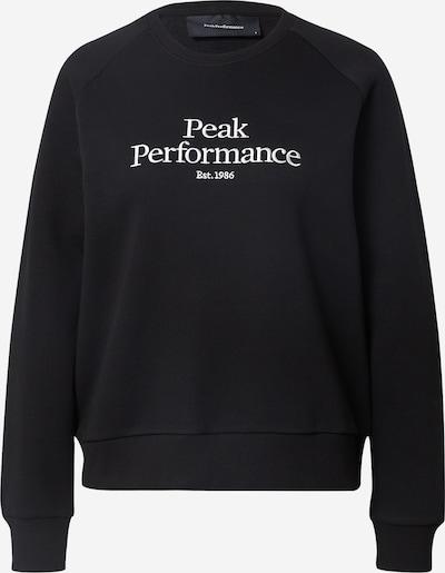 PEAK PERFORMANCE Športová mikina - čierna / biela, Produkt