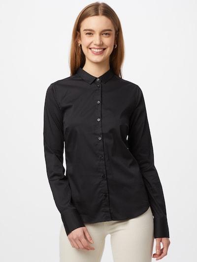 MOS MOSH Bluse 'Tilda' in schwarz, Modelansicht