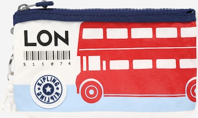 KIPLING Clutch 'CREATIVITY' in Blue / Red / White, Item view
