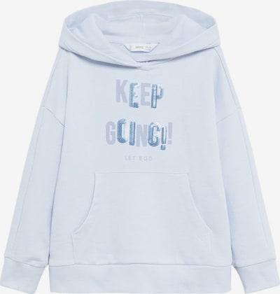 MANGO KIDS Sweatshirt in pastellblau, Produktansicht