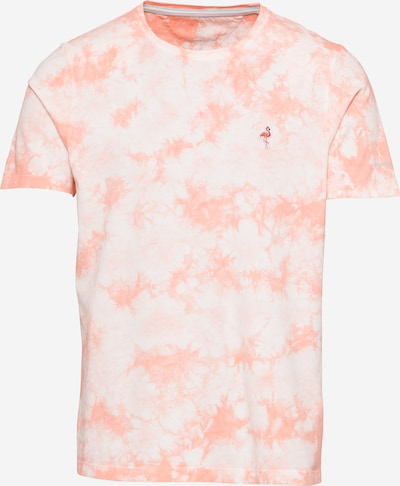 COLOURS & SONS Majica 'FRANK' u losos / roza / bijela, Pregled proizvoda