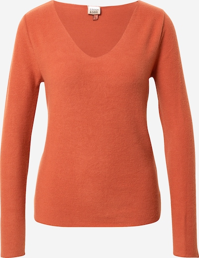 Stitch and Soul Pullover in orange, Produktansicht
