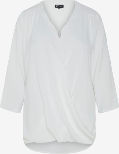 SPGWOMAN Wickelbluse in weiß, Produktansicht