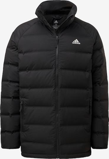 ADIDAS PERFORMANCE Sportjas 'Helionic' in de kleur Zwart / Wit, Productweergave