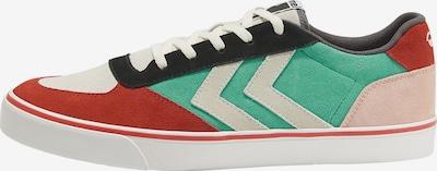 Hummel Sportschoen in de kleur Jade groen / Rosa / Roestrood / Zwart / Wit, Productweergave