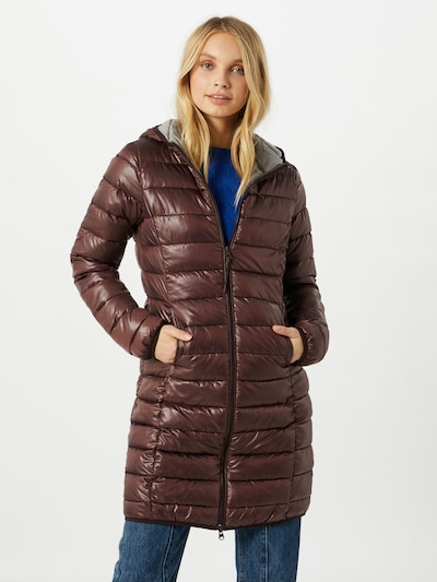 Q/S designed by Přechodný kabát - rezavě hnědá, Model/ka