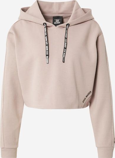 STEVE MADDEN Sweatshirt 'IKAREN' in pastellpink / schwarz / weiß, Produktansicht