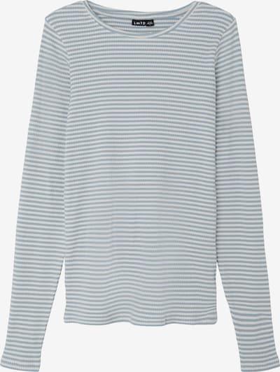 LMTD Pullover in rauchblau / weiß, Produktansicht
