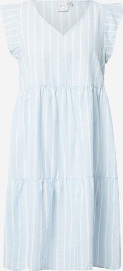 ICHI Kleid in hellblau / weiß, Produktansicht