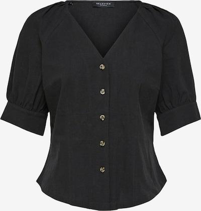 SELECTED FEMME Bluse in schwarz, Produktansicht