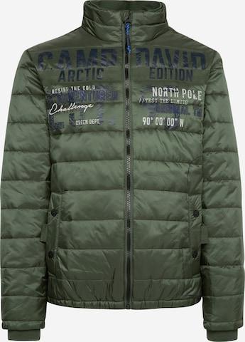 CAMP DAVID Vinterjakke i grønn