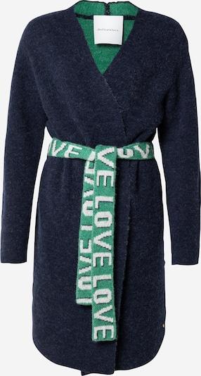 DELICATELOVE Knit Cardigan 'DIANA' in Dark blue / Green, Item view