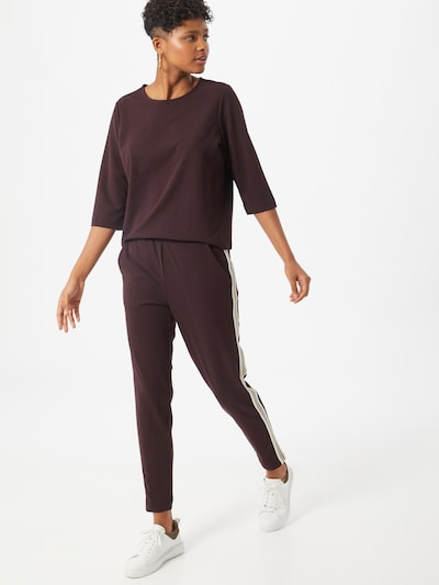 Soyaconcept Jumpsuit 'Mascha 7' in chestnut brown, View model