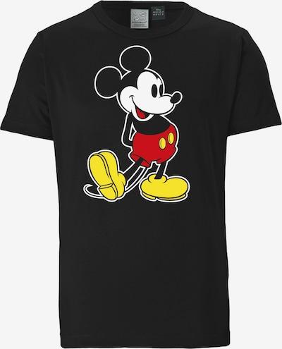 LOGOSHIRT T-Shirt 'Mickey Mouse – Classic' in schwarz, Produktansicht