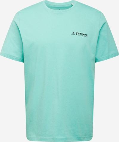 adidas Terrex T-Shirt fonctionnel en menthe / noir, Vue avec produit