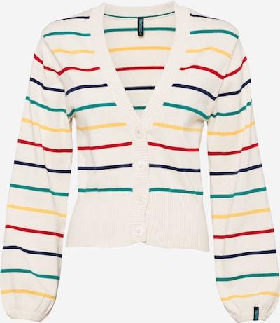 Tranquillo Gebreid vest in de kleur Gemengde kleuren / Wit, Productweergave