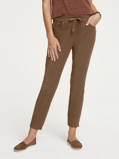 heine Jogginghose in braun, Modelansicht