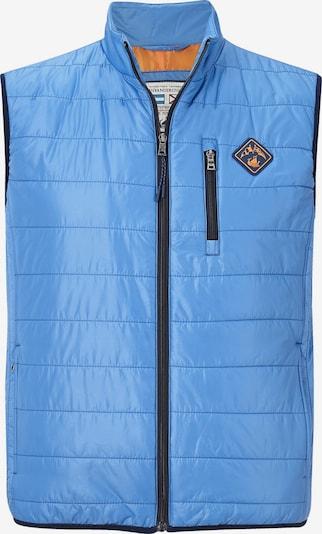 Jan Vanderstorm Bodywarmer 'Mattis' in de kleur Marine / Royal blue/koningsblauw, Productweergave