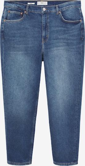 MANGO Jeans in de kleur Blauw denim, Productweergave
