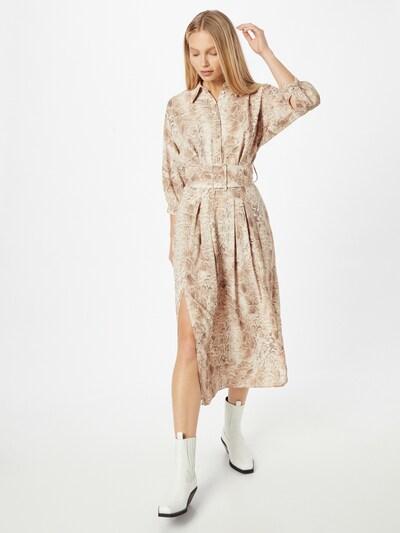 River Island Kleid in braun / weiß, Modelansicht