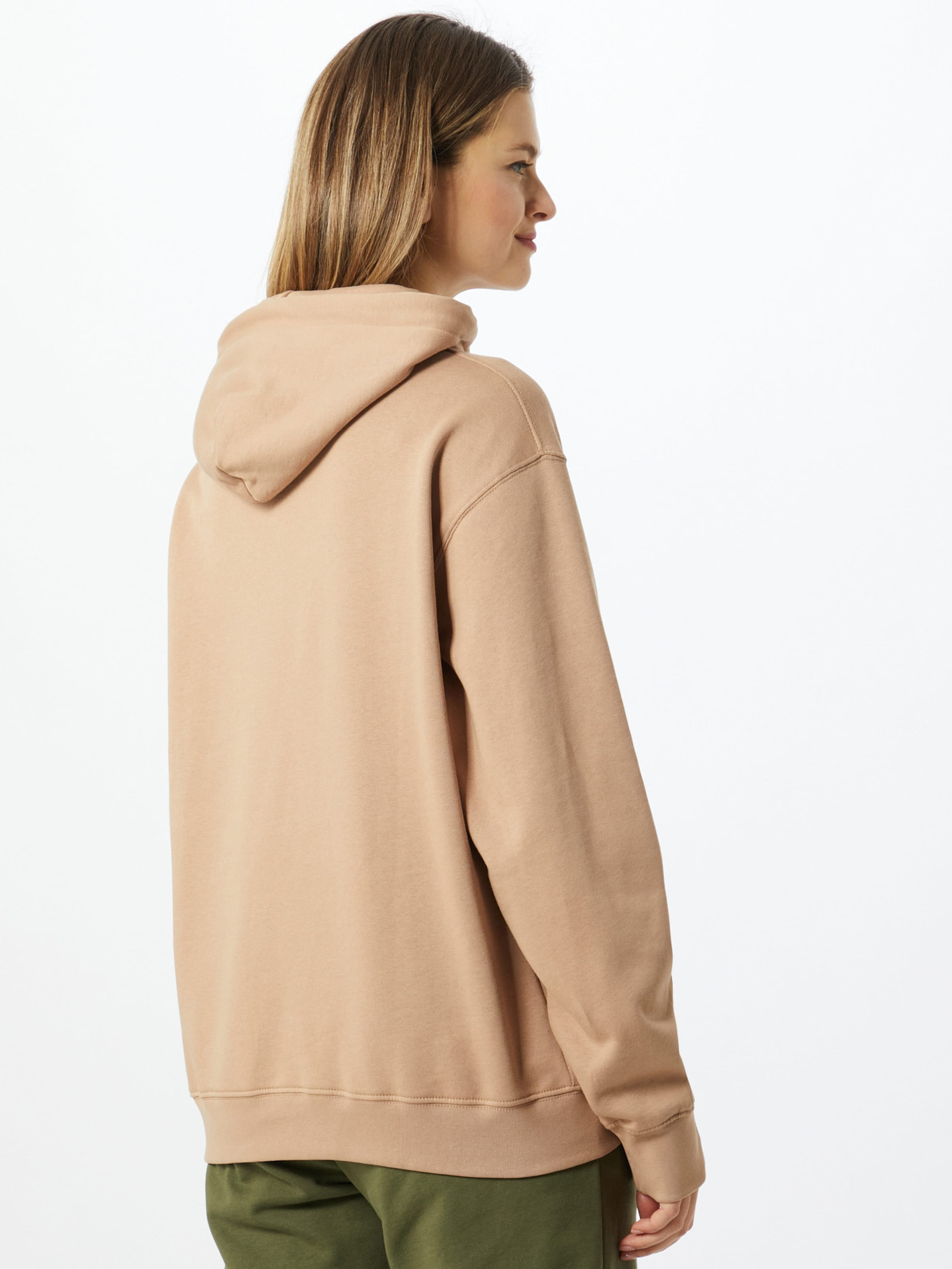 10k Sweatshirt i beige