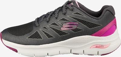 SKECHERS Sneakers in grau / lila, Produktansicht