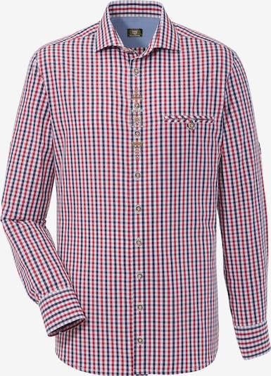 OS-TRACHTEN Trachtenhemd in rot, Produktansicht