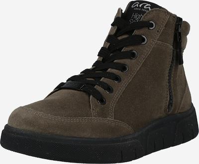 ARA Sneaker 'Rom' in braun / schwarz, Produktansicht